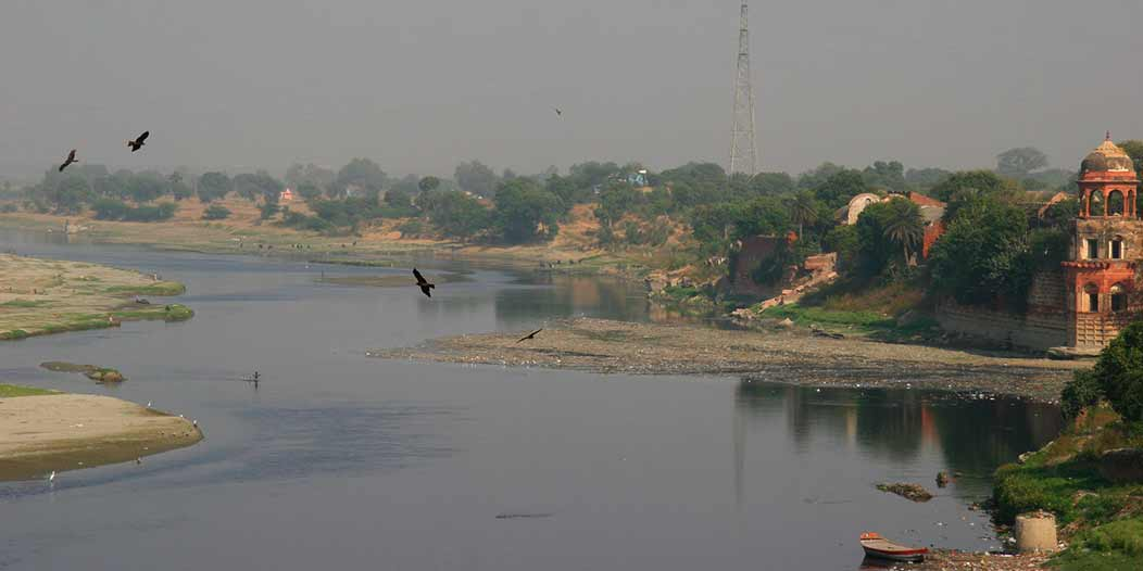Agra Environmentalists Tied Rakhi To Pledge Their Support To Save The Dying Yamuna